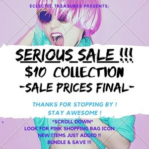 🔽SCROLL DOWN🔽for a GREAT selection of $10 items!